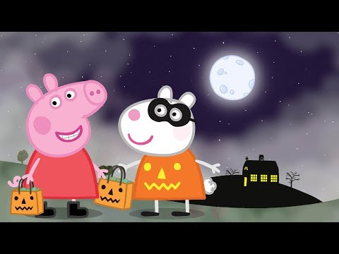 Peppa Pig English Episodes - Halloween Party! Peppa Pig Official
