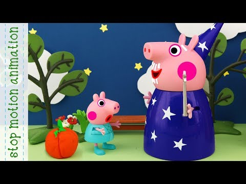 Cinderella Peppa Fairy tale Peppa Pig tv toys stop motion animation