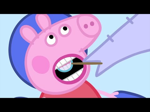 Peppa Pig English Episodes | Peppa Pig Visits The Dentist | Peppa Pig Compilation Peppa Pig Official
