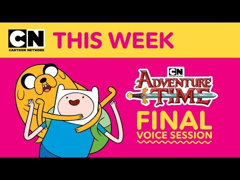 Adventure Time | Final Voice Session | Cartoon Network This Week