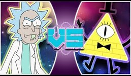 RICK SANCHEZ vs BILL CIPHER! (Rick and Morty Animation) ft: Just A Robot | REWIND RUMBLE