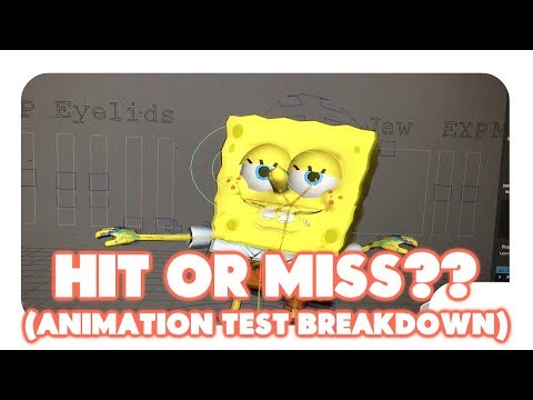 (Animation Breakdown) Spongebob Hit Or Miss