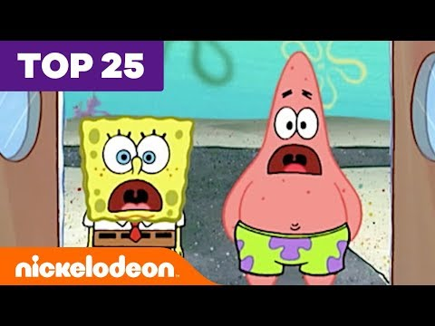 Top 25 Most Underrated SpongeBob SquarePants Jokes 🐟 | #FunniestFridayEver