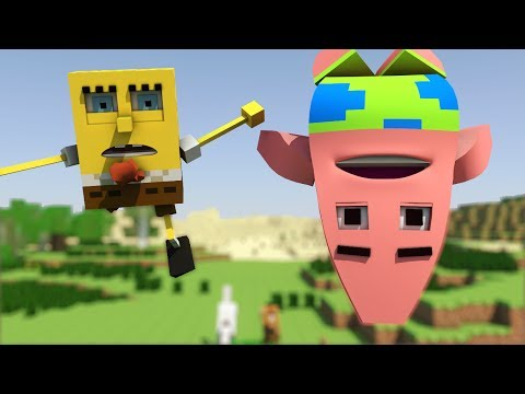 """Spongebob in Minecraft 2"" - Animation"