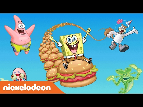 SpongeBob SquarePants | The Ultimate Krabby Patty Challenge | Nick