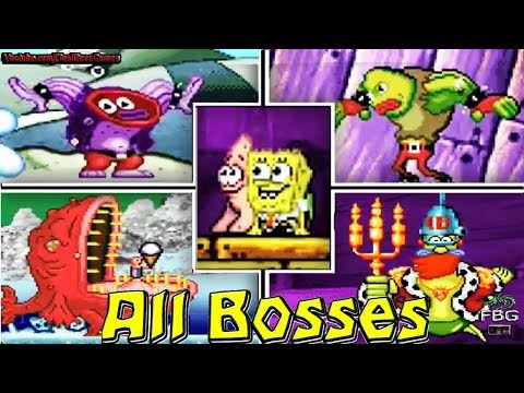 The SpongeBob SquarePants Movie All Bosses