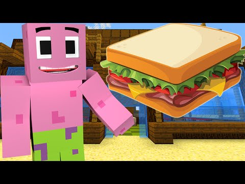 Minecraft : Spongebob Episode 11 - PATRICK'S SANDWICH (Minecraft Roleplay)