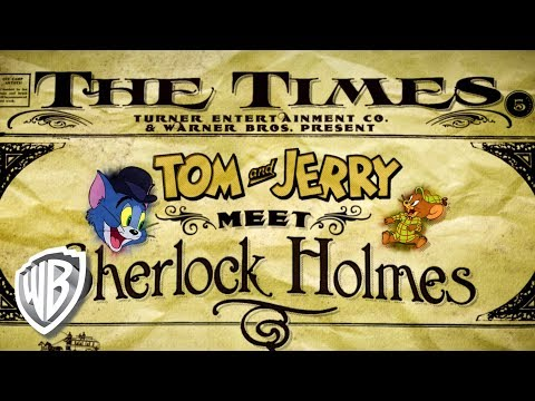 Tom & Jerry | Tom & Jerry Meet Sherlock Holmes | First 10 Minutes | WB Kids