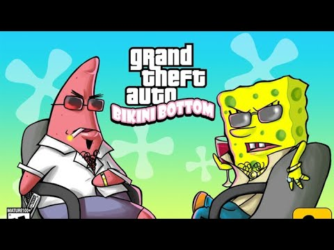 SpongeBob SquarePants GTA 5 DLC ( 2018 )