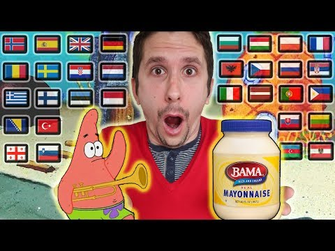 "SPONGEBOB: How To Say ""IS MAYONNAISE AN INSTRUMENT?"" In 32 Different Languages"
