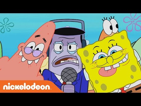 SpongeBob SquarePants | Perch Perkins LOVES Frozen Krabby Patties | Nick