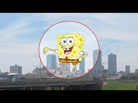 5 TIMES SPONGEBOB SQUAREPANTS CAUGHT ON CAMERA & SPOTTED IN REAL LIFE!