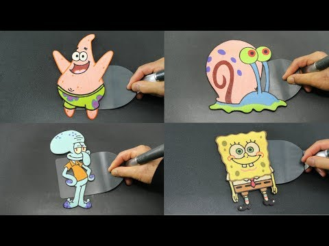 SPONGEBOB AND FRIENDS PANCAKE TRIBUTE REMIX VIDEO PATRICK GARY AND SQUIDWARD