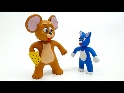 Tom and Jerry Friends Mischievous In Real Superhero Baby Life Play Doh Cartoon Movies