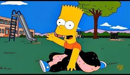 The Simpsons - Running Bart