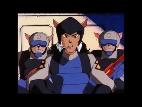 Swat Kats- The Dark Swat Kats and Evil Callie's defeat